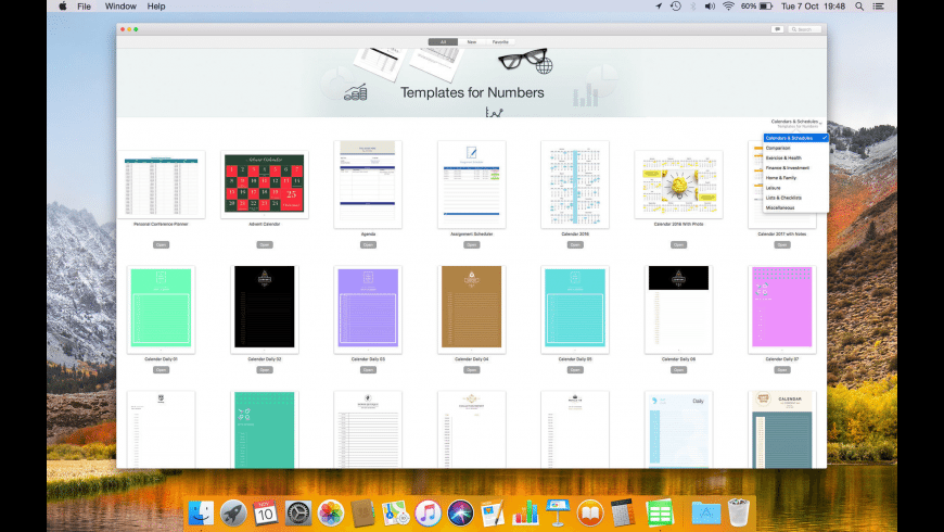 DesiGN for Numbers Templates for Mac - review, screenshots