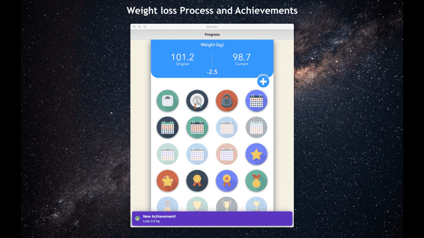 Weight Loss at Home for Mac - review, screenshots