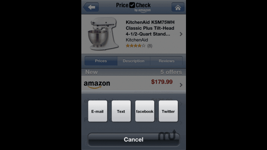 Price Check by Amazon for Mac - review, screenshots