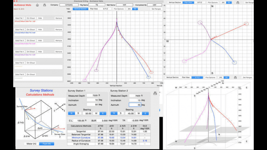 Directional Drilling for Mac - review, screenshots