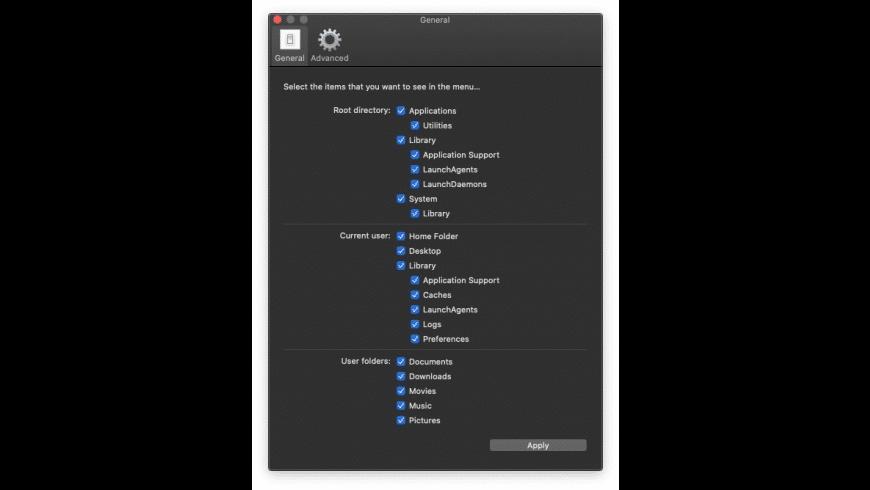 Access Menu for Mac - review, screenshots