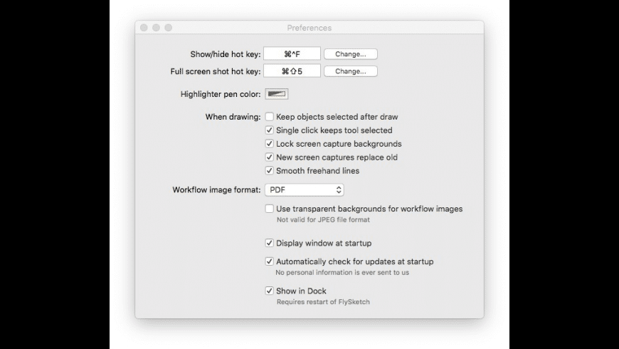 FlySketch for Mac - review, screenshots