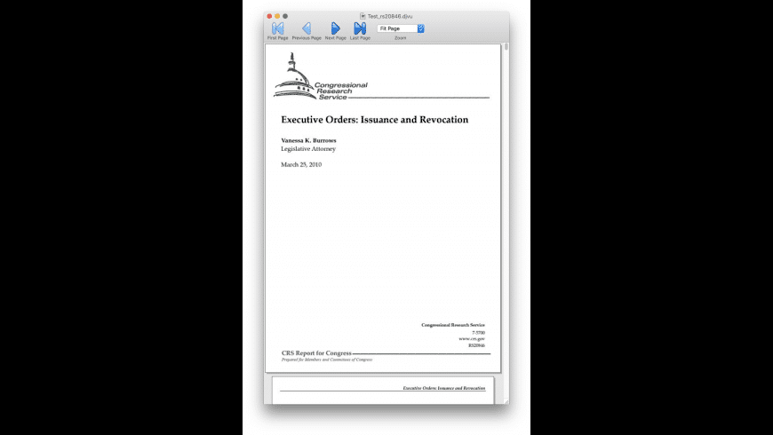MacDjView for Mac - review, screenshots