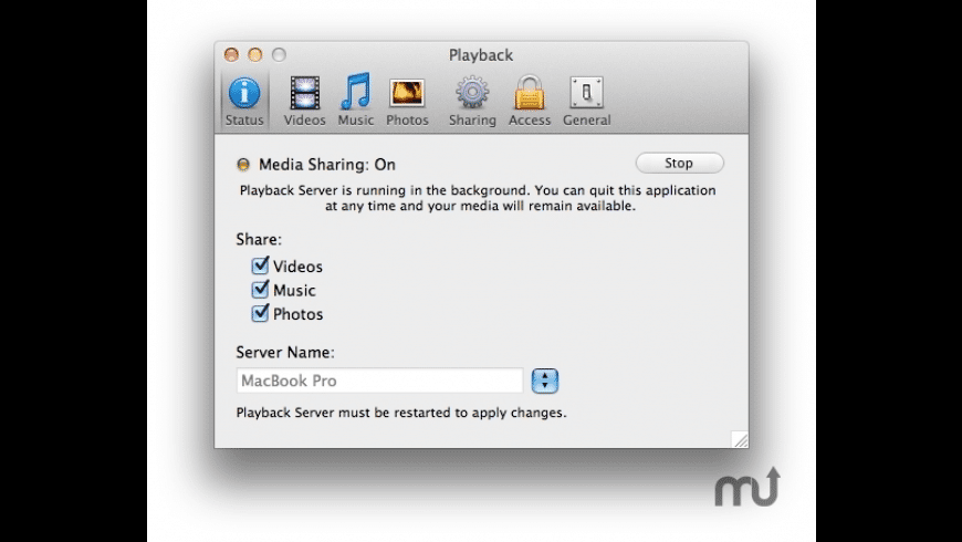Playback for Mac - review, screenshots