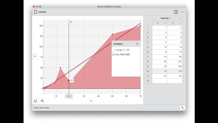 Graphical Analysis for Mac - review, screenshots
