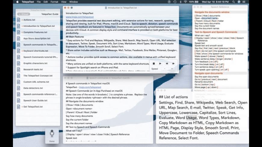 TelepaText for Mac - review, screenshots