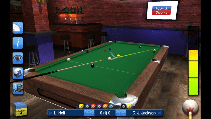 Pro Snooker & Pool for Mac - review, screenshots