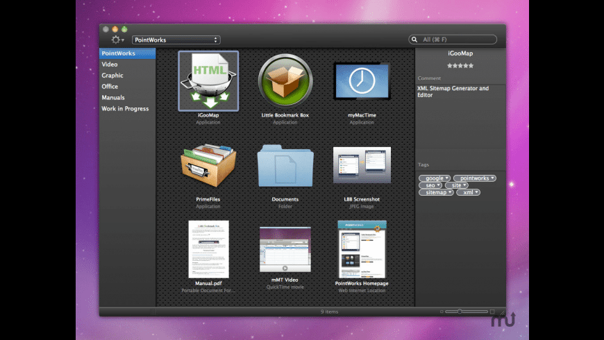 PrimeFiles for Mac - review, screenshots