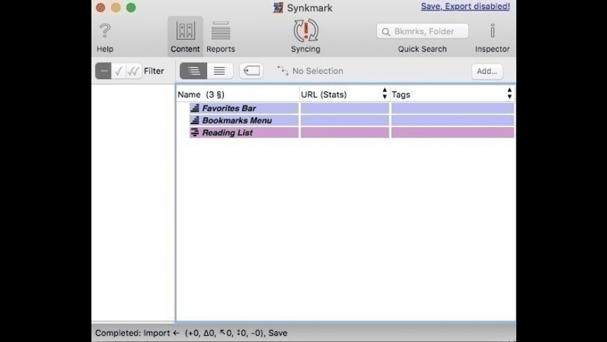 Synkmark for Mac - review, screenshots