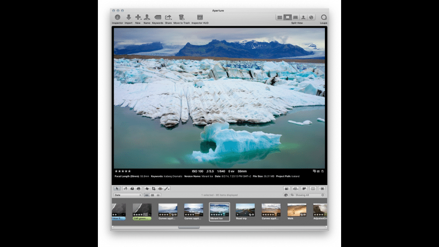 Avalanche for Luminar for Mac - review, screenshots