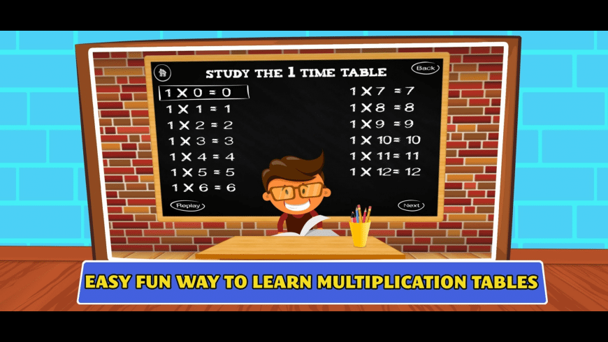 Times Tables Multiplication for Mac - review, screenshots