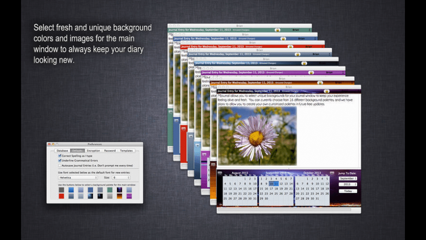 MiJournal for Mac - review, screenshots