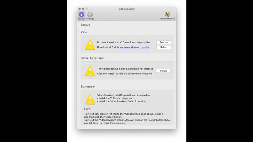 VideoBreakout for Mac - review, screenshots