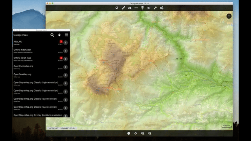 Cartograph Maps 2 for Mac - review, screenshots