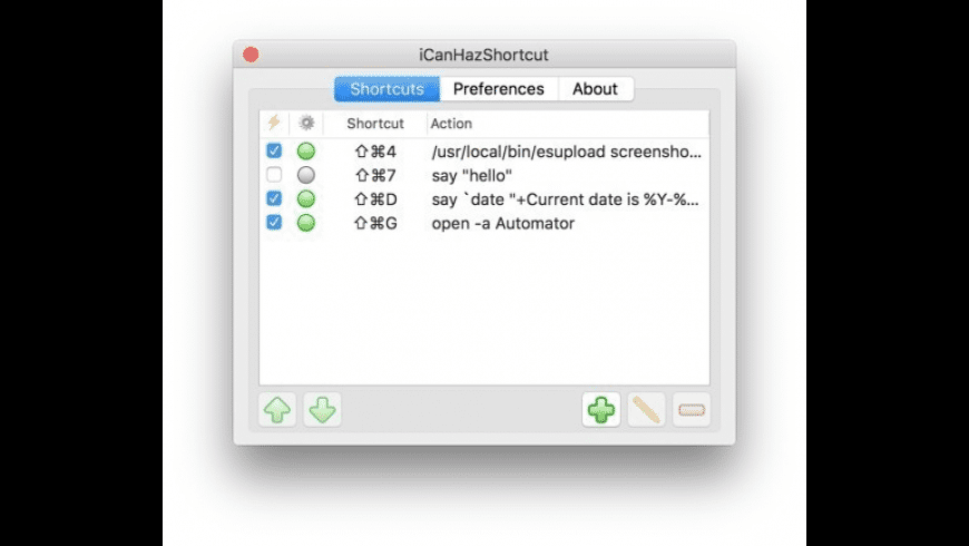 iCanHazShortcut for Mac - review, screenshots
