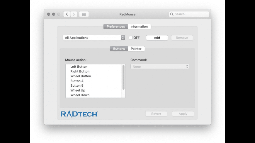 RadMouse for Mac - review, screenshots