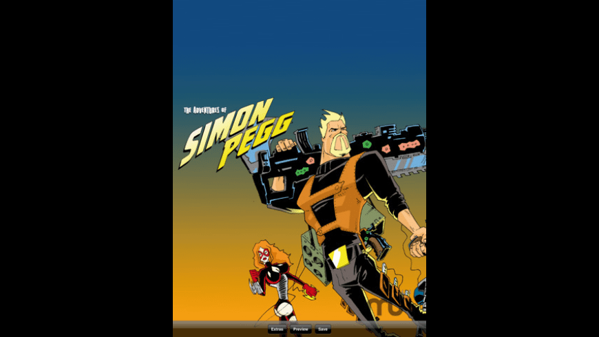 The Adventures of Simon Pegg for Mac - review, screenshots