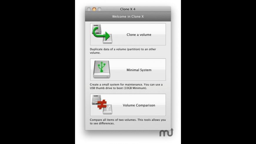 Clone X for Mac - review, screenshots