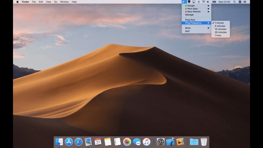 Pingey for Mac - review, screenshots