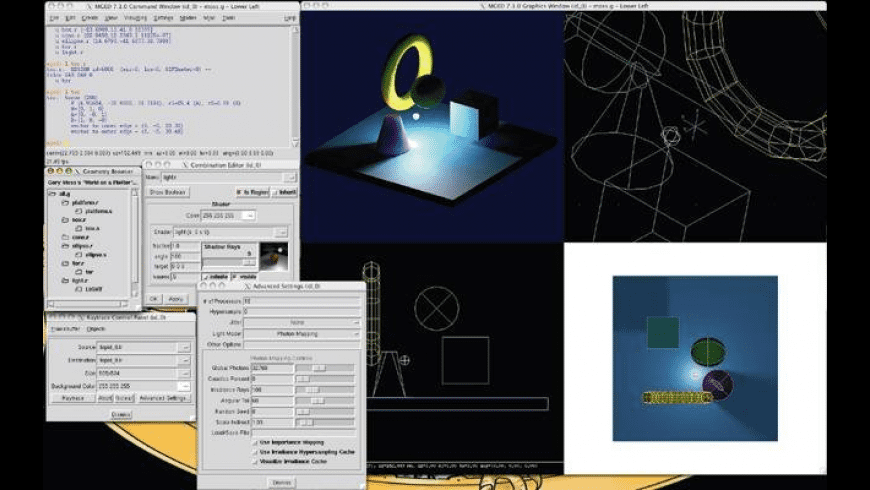 BRL-CAD for Mac - review, screenshots