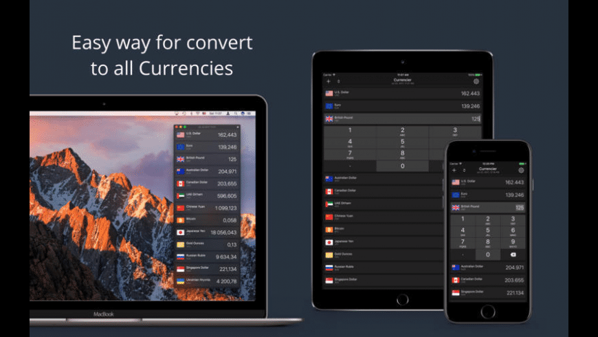 Currencier for Mac - review, screenshots