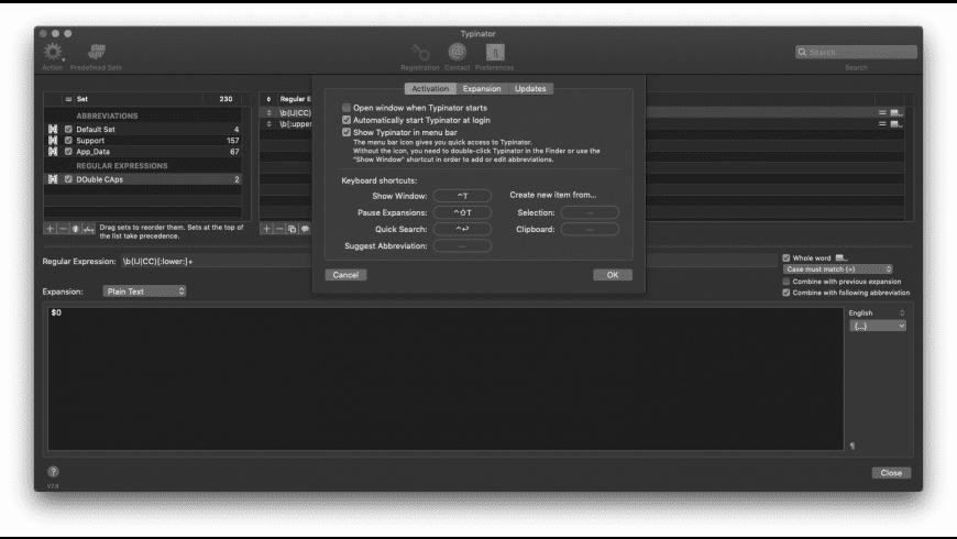 Typinator for Mac - review, screenshots