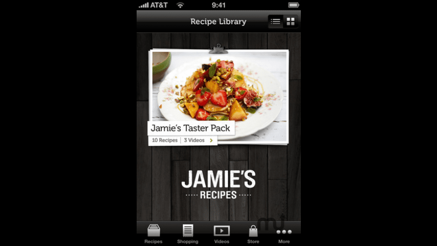 Jamie\'s Recipes for Mac - review, screenshots