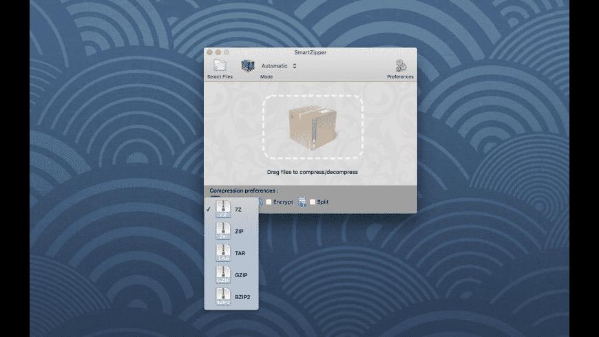 Smart Zipper for Mac - review, screenshots
