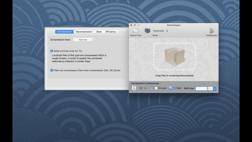 Smart Zipper for Mac - review, screenshots