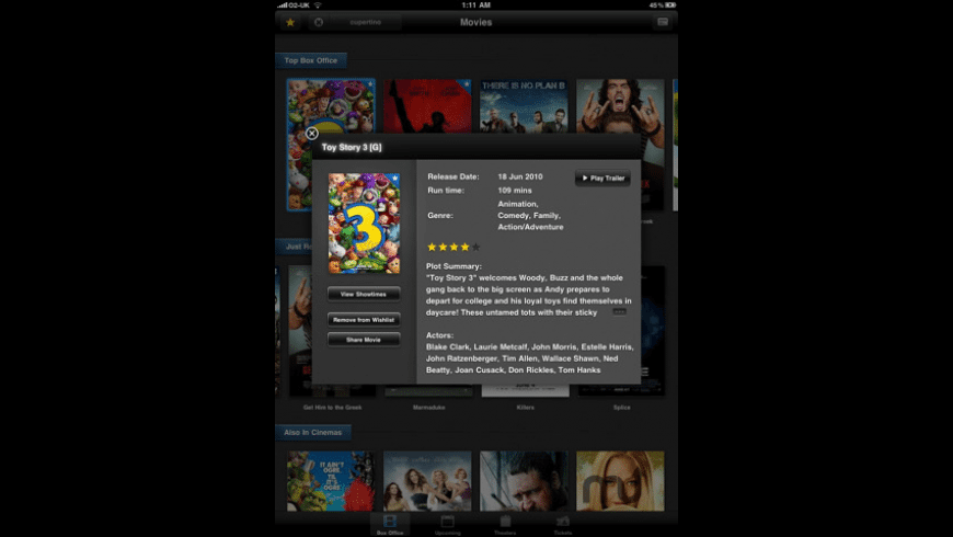 Movies Now HD for Mac - review, screenshots