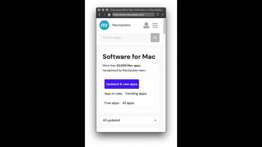 Monochrome for Mac - review, screenshots
