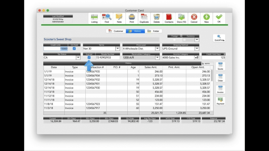 Big Business for Mac - review, screenshots