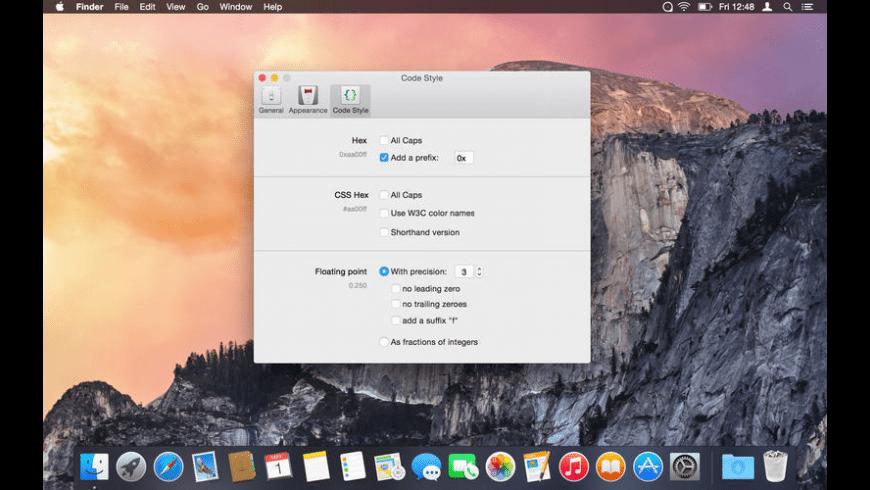 ColorSnapper for Mac - review, screenshots
