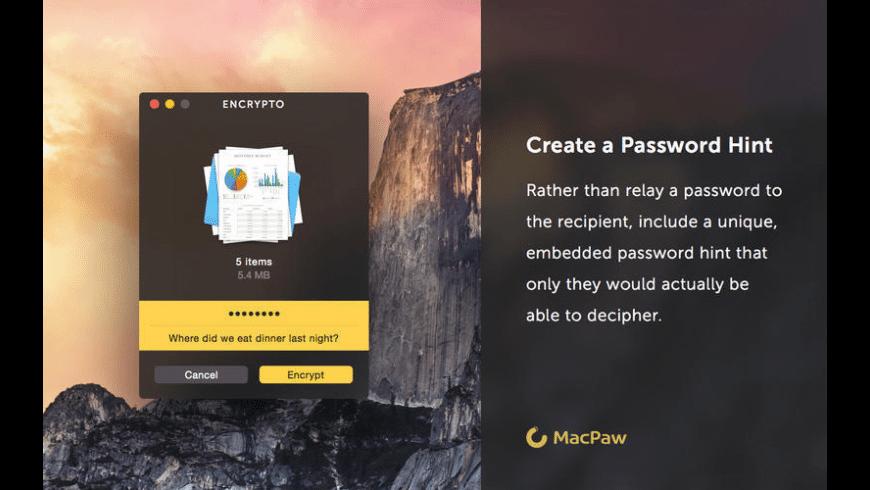 Encrypto for Mac - review, screenshots