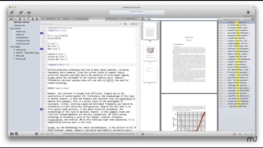 TeXnicle for Mac - review, screenshots