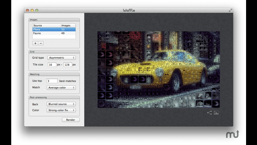 Waffle for Mac - review, screenshots