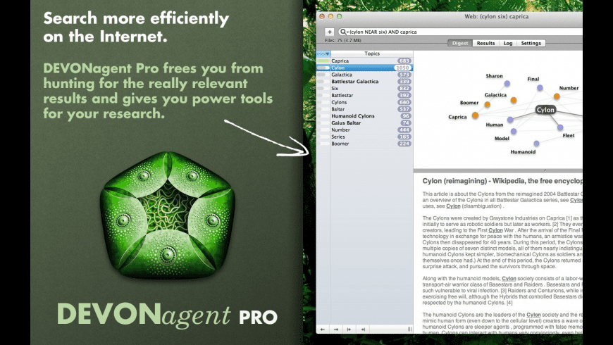 DEVONagent Pro for Mac - review, screenshots