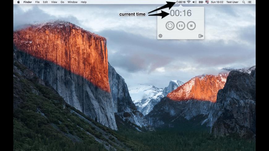 Menu Stopwatch for Mac - review, screenshots