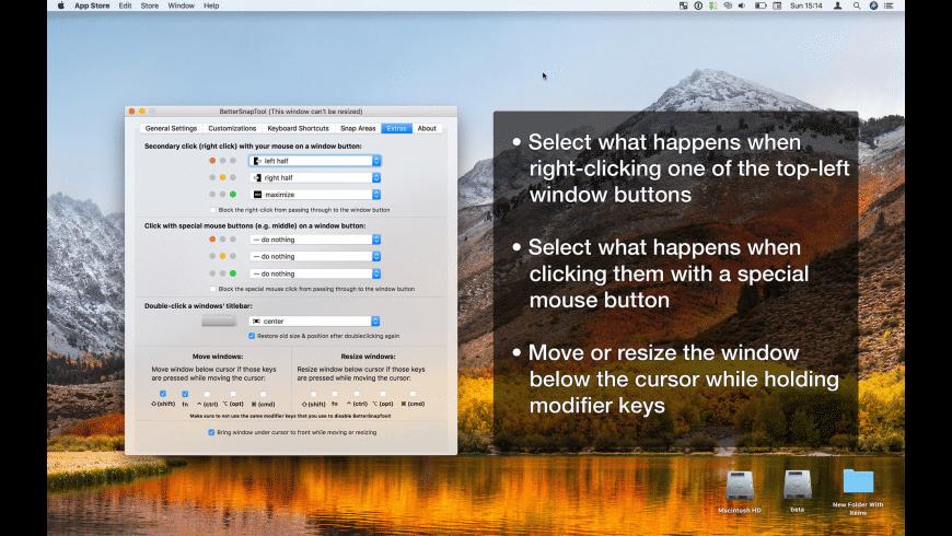 BetterSnapTool for Mac - review, screenshots