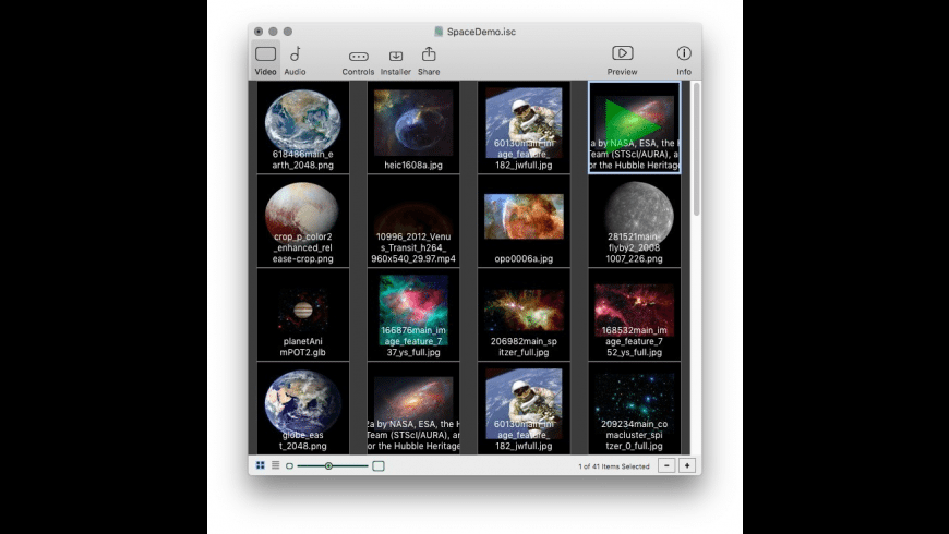 iScreensaver Designer for Mac - review, screenshots