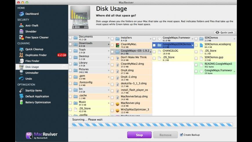 MacReviver for Mac - review, screenshots