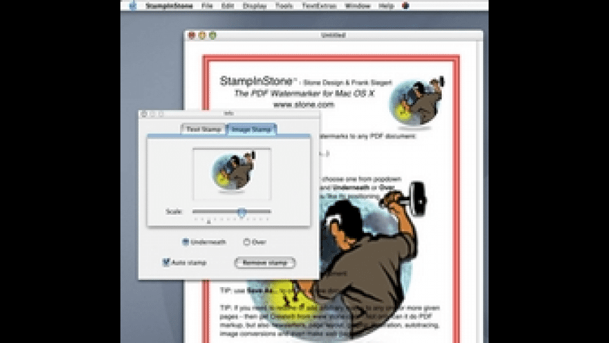 StampInStone for Mac - review, screenshots