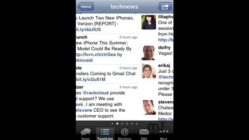 TweetList for Twitter for Mac - review, screenshots