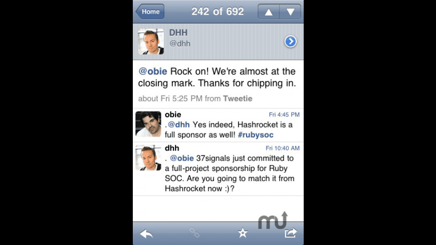TweetList for Twitter for Mac - review, screenshots