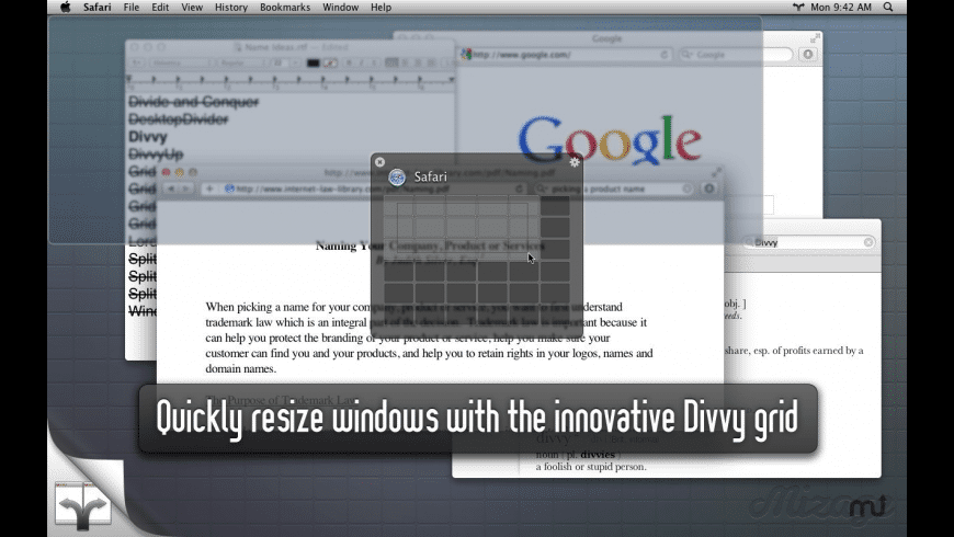Divvy for Mac - review, screenshots