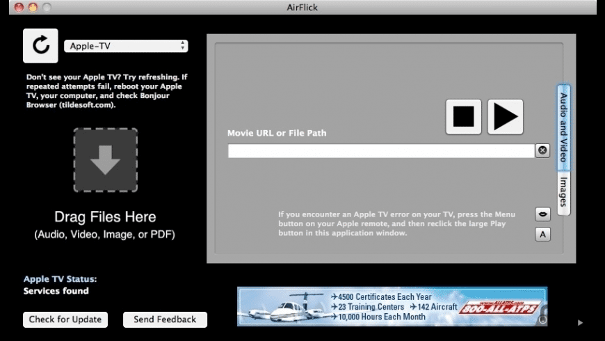 AirFlick for Mac - review, screenshots