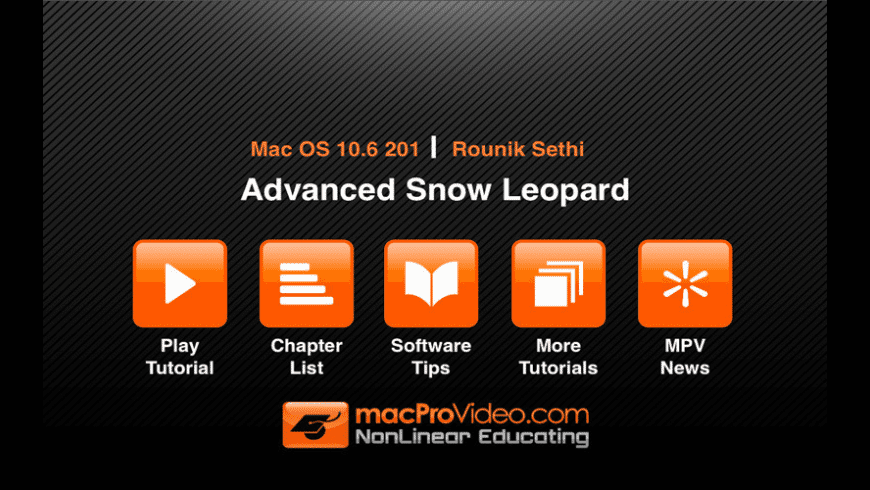 Advanced Snow Leopard for Mac - review, screenshots