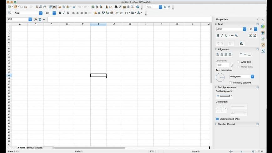 OpenOffice for Mac - review, screenshots