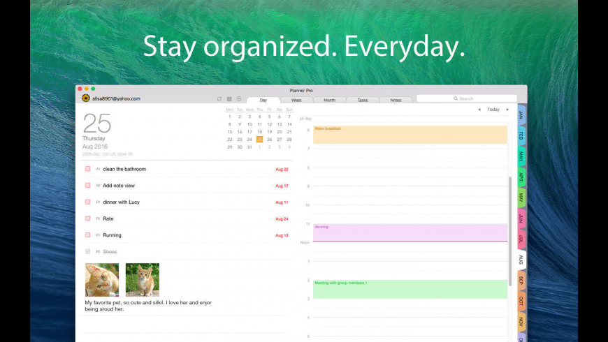 Planner Pro for Mac - review, screenshots