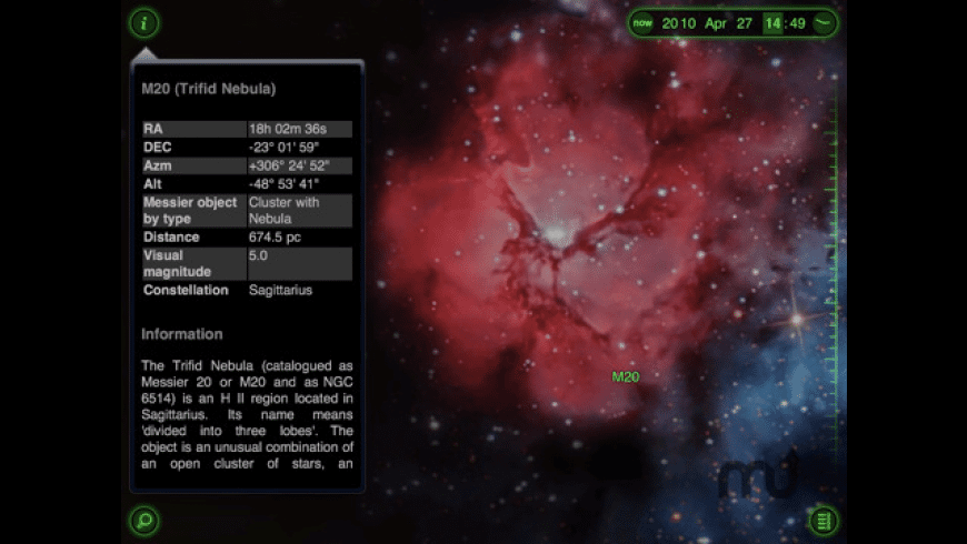 Star Walk for iPad for Mac - review, screenshots